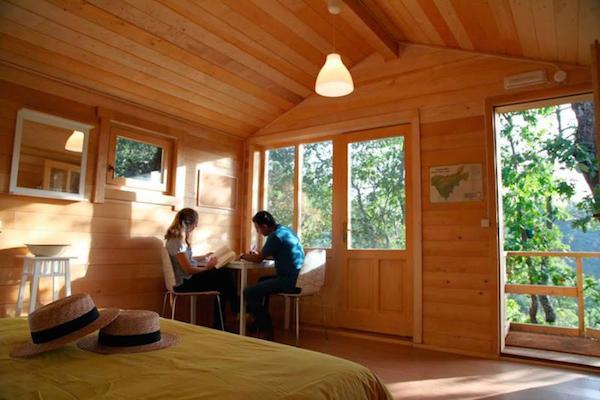Dormir en los rboles - Casas en los arboles girona ...