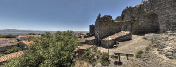 Castillos Santivañez el alto (www.sierradegata.org)