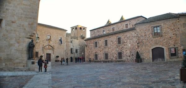 El_palacio_de_la_Diputación_de_Cáceres