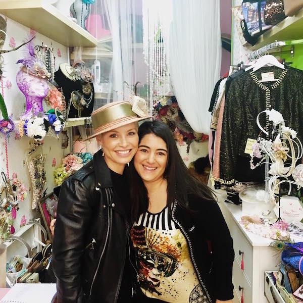 Nuria con Soraya