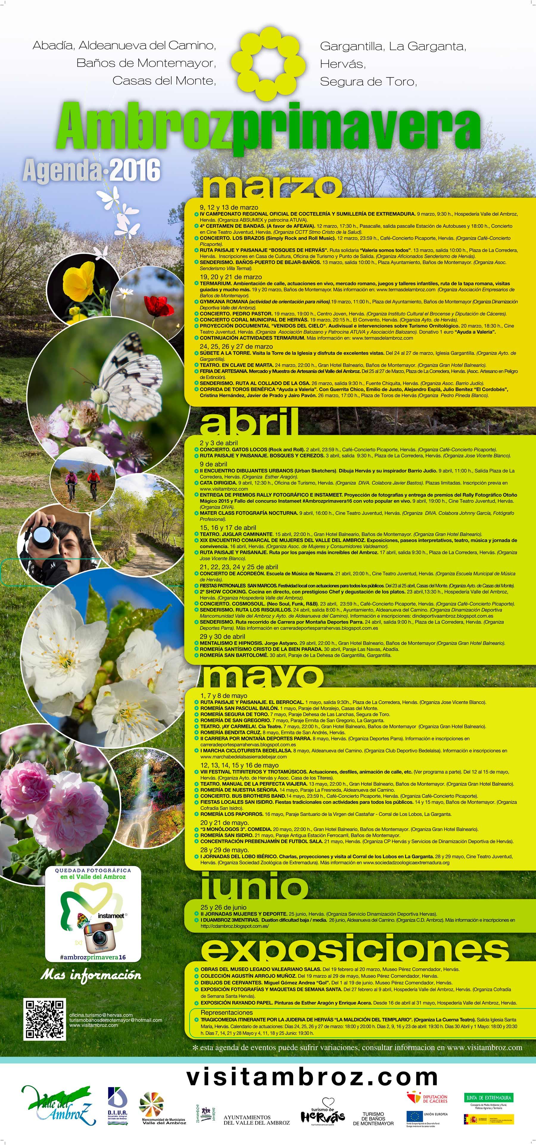 Cartel Ambroz Primavera