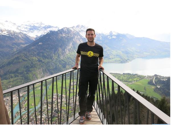 Desde Harder Kulm, el mirador de Interlaken.