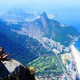 Vistas de Rio de Janeiro desde Pedra da Gavia