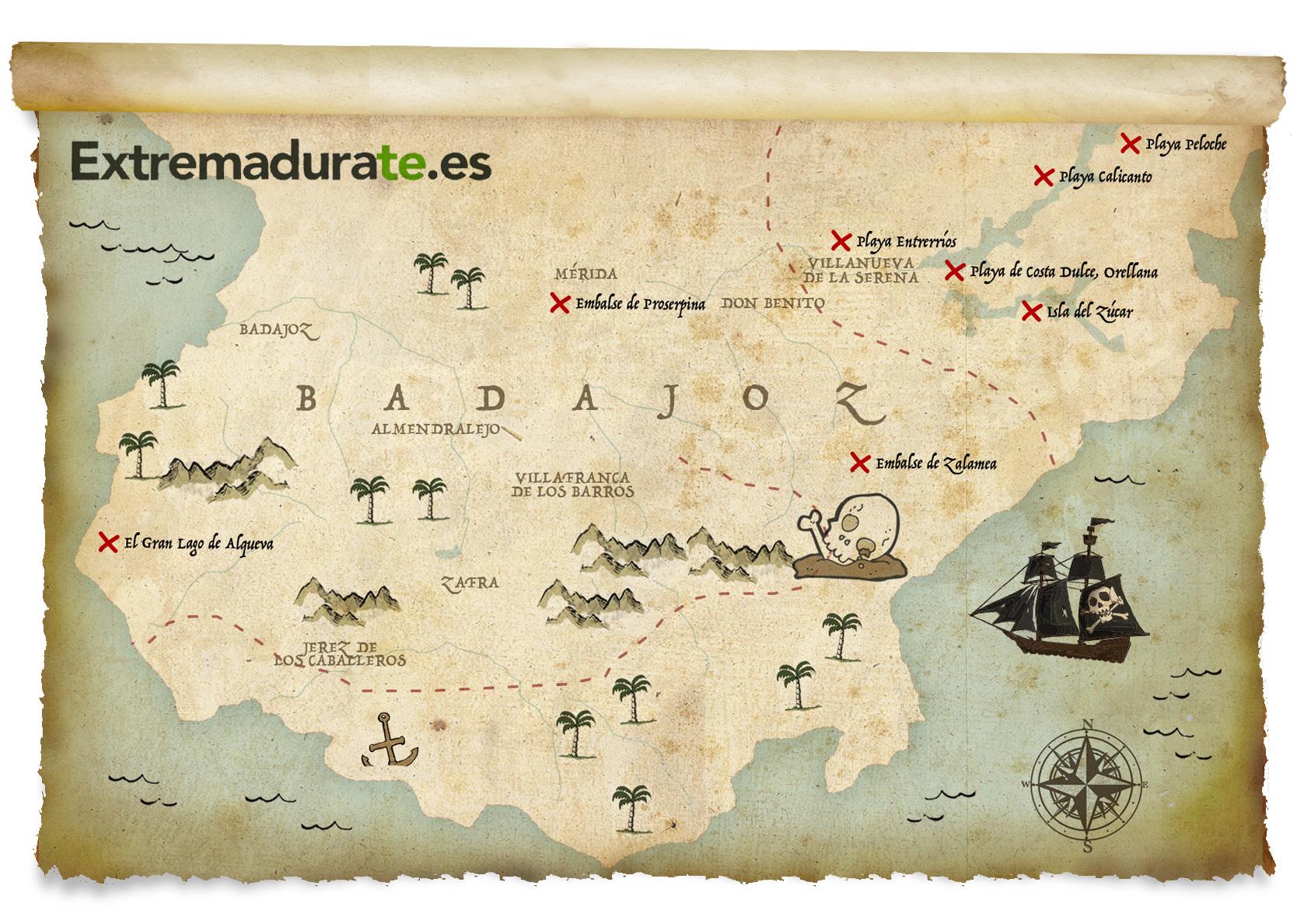 Baños Romanos Badajoz:Playas, embalses y otras zonas de baño en Badajoz – Extremadurate