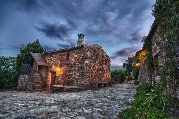 La Ramallosa, casitas de piedra