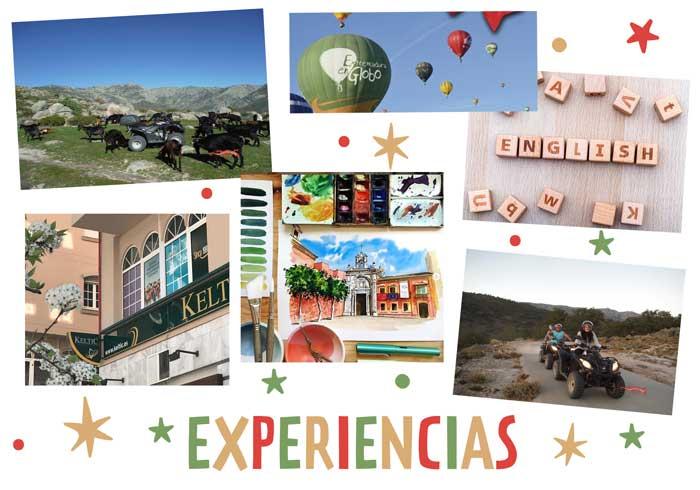 regalos experiencias